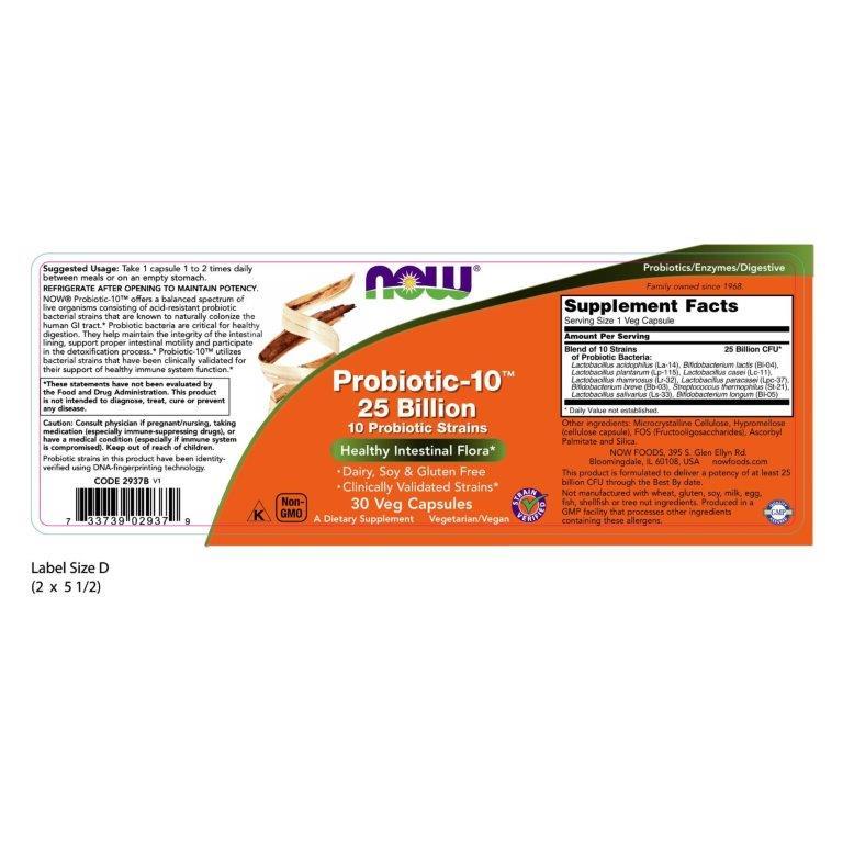 Probiotic_2937_Label